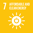 SDGs7 AFFORDABLE AND CLEAN ENERGY